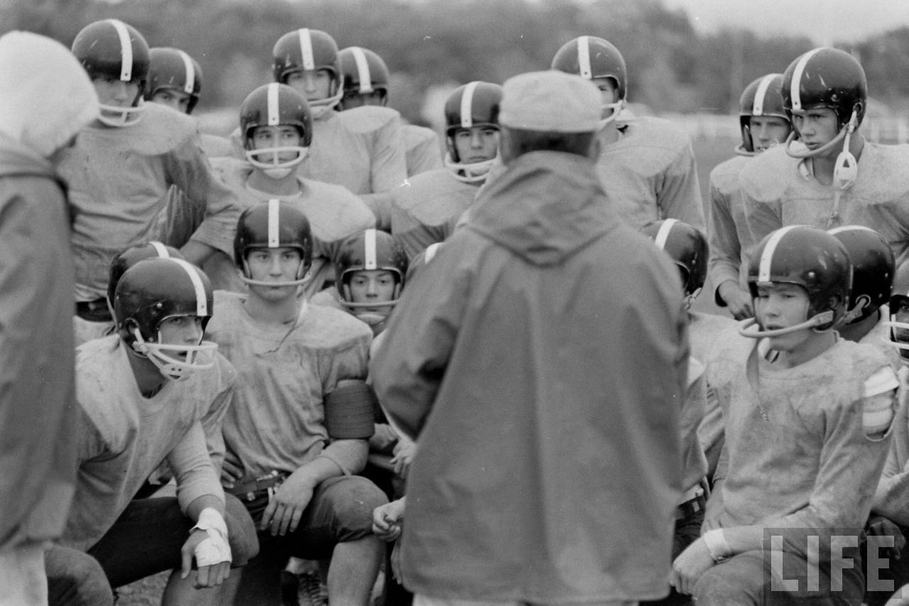 Old Photos: Lawrence Lions High School Football