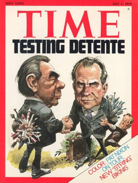La détente (1962-1975). dans guerre froide / relations internationales