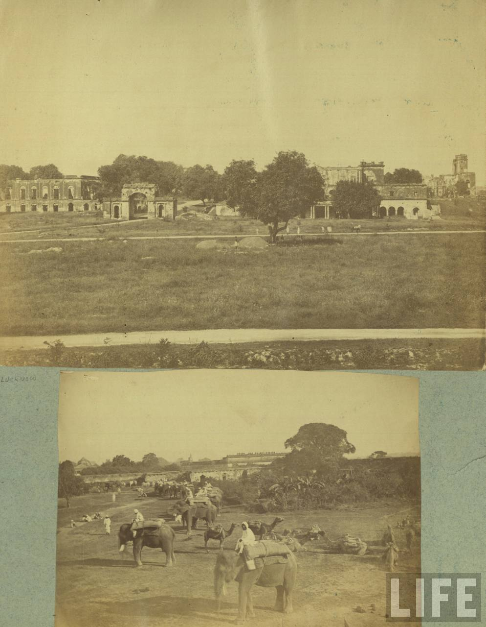 War 1857 Indian Mutiny Camp Lucknow