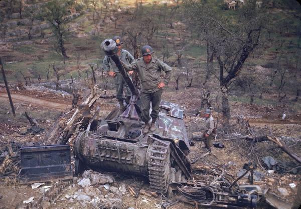[Campagne d'Italie] Mai 44 , 88 Infantry division aux alentours de Rome  39f42687dc8041af_landing