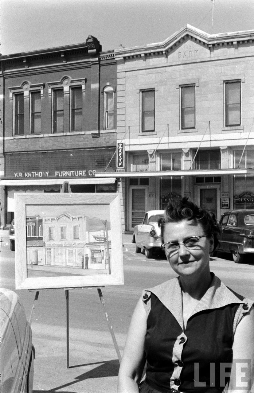 Old Photos: Art Conquers Attica, KS