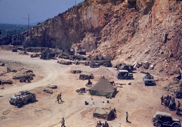 [Campagne d'Italie] Mai 44 , 88 Infantry division aux alentours de Rome  50222429b1682868_landing