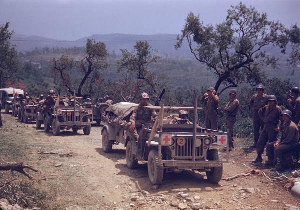 [Campagne d'Italie] Mai 44 , 88 Infantry division aux alentours de Rome  666d8c1470010c9f_landing