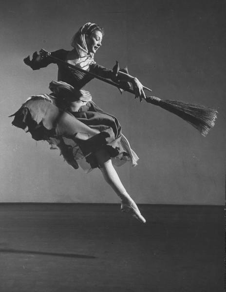 Moira Shearer in Sadlers Wells production of Cinderella Photo: Gjon Mili © Source: LIFE