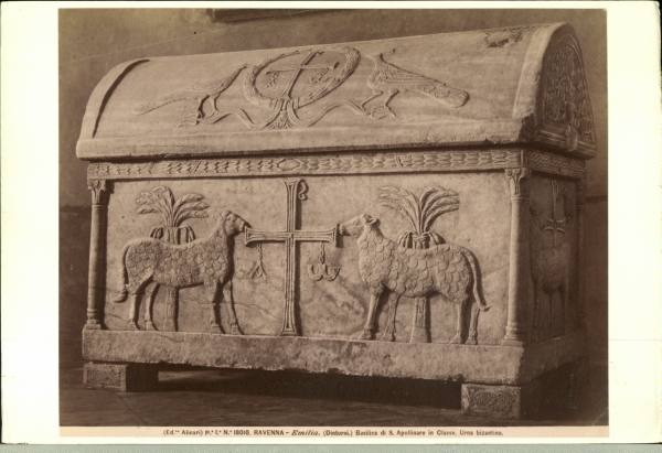 Rel Chri Early Sarcophagai With Christian Symbols Hosted By Google