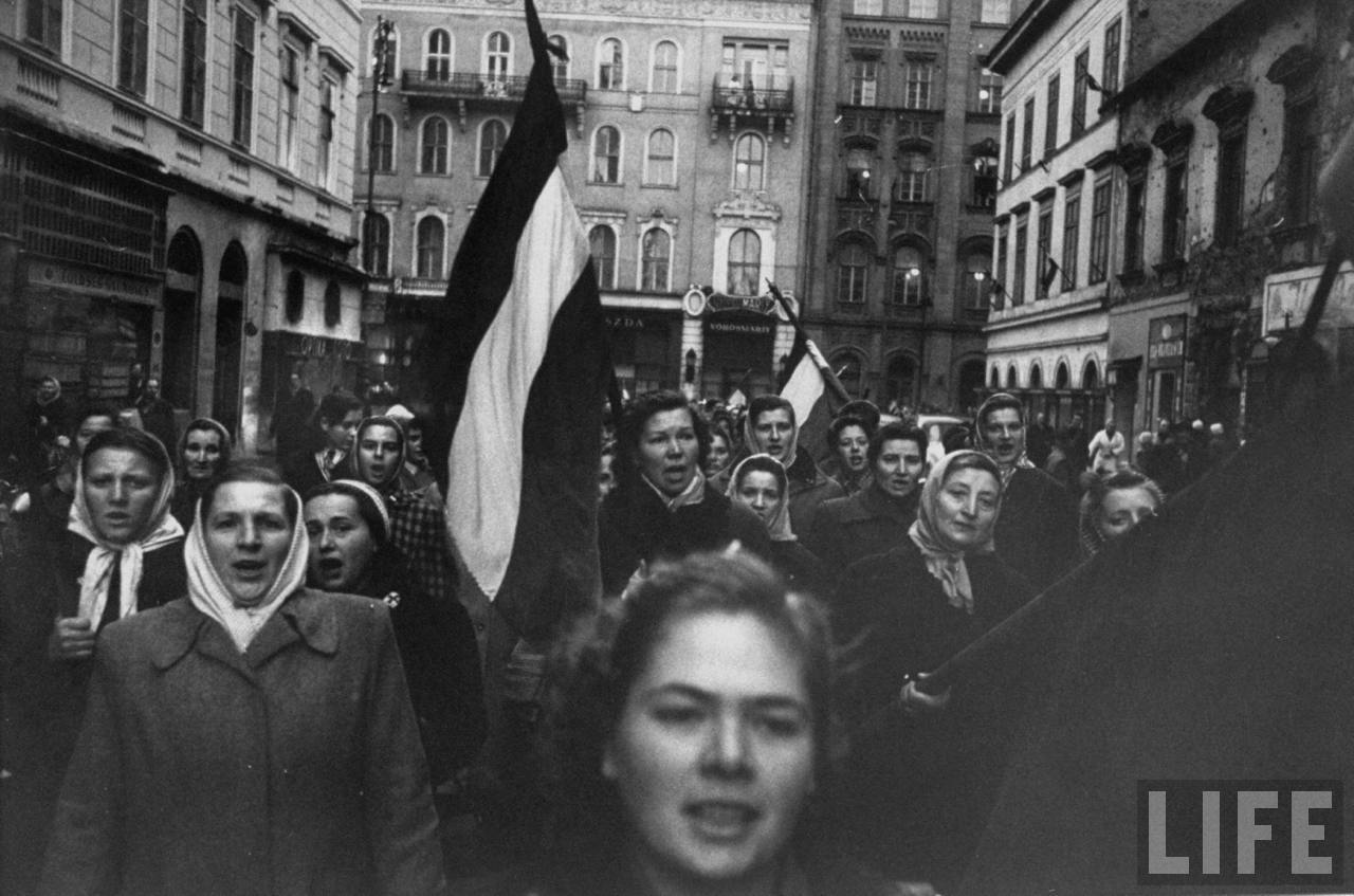 Old Photos: Hungarian Revolution of 1956