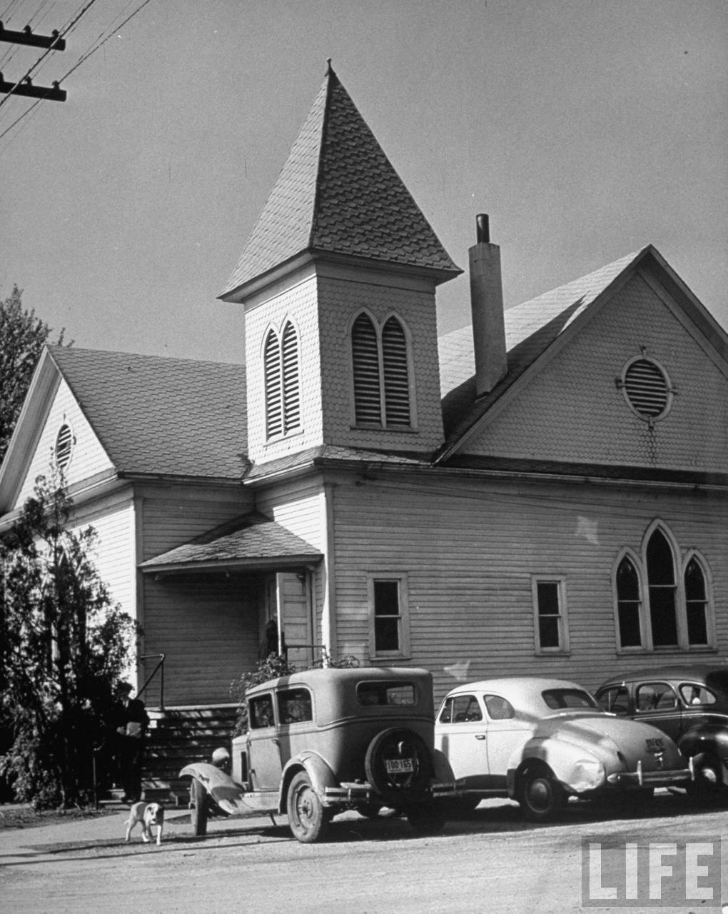 Grandview Baptist Church about a mile from the Truman family farm (from photo essay re Harry Trumans Missouri).