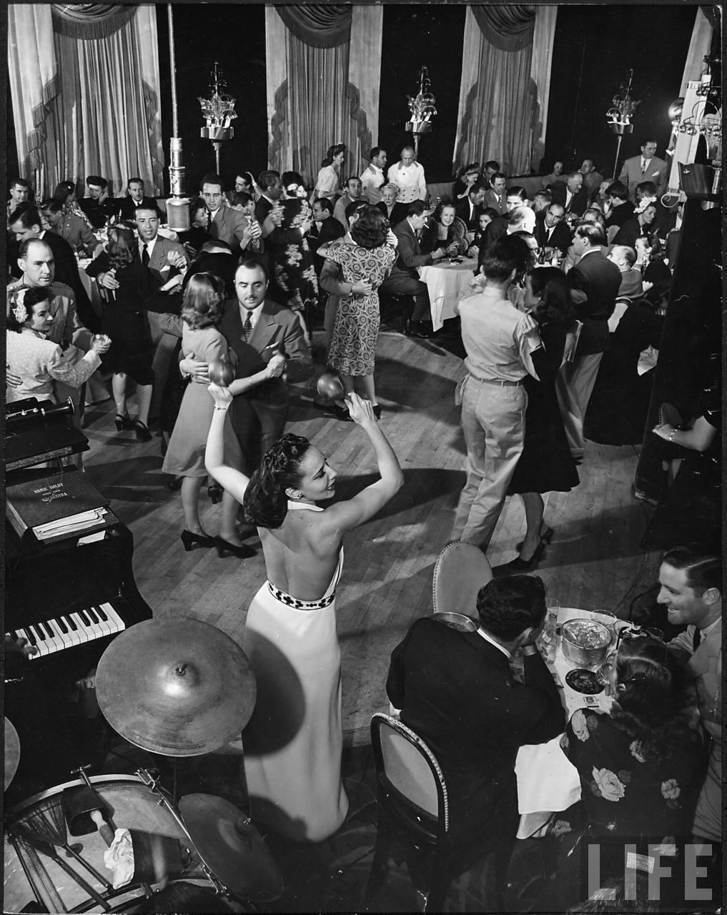 Stork Club dance floor