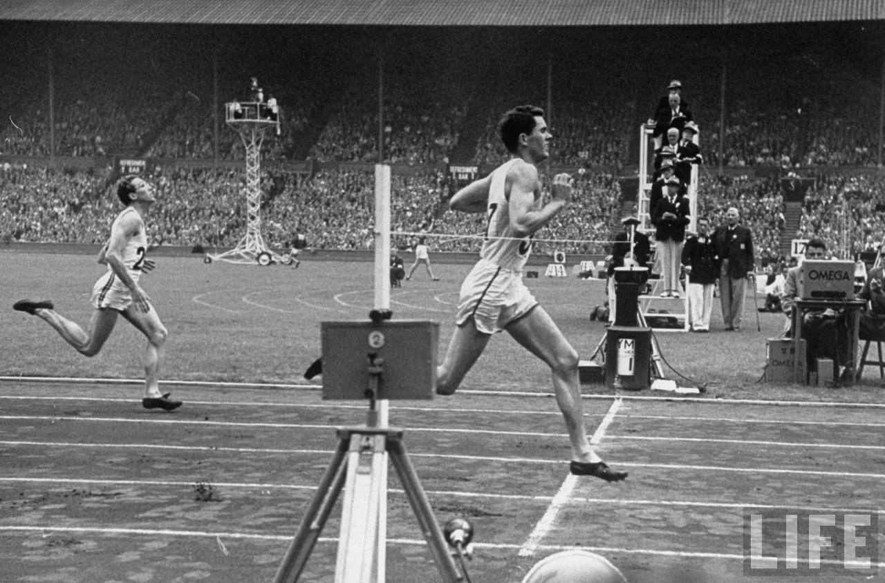 Old Photos: 1948 London Olympics