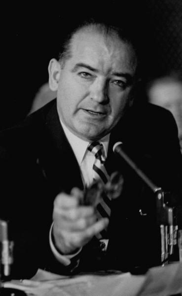 Le blues du sénateur McCarthy. dans guerre froide / relations internationales