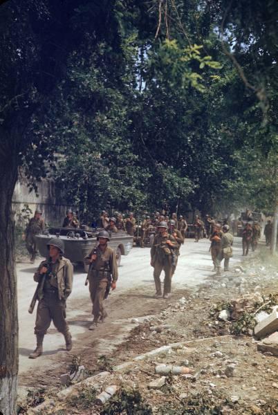 [Campagne d'Italie] Mai 44 , 88 Infantry division aux alentours de Rome  Ff925de87ffd4523_landing