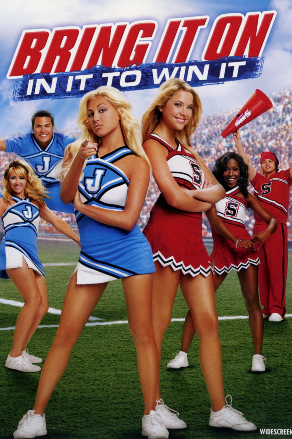 Bring It On In It to Win It 2007 Hindi Dual Audio Movie Download BRRip 480p 300MB | 720p 800MB