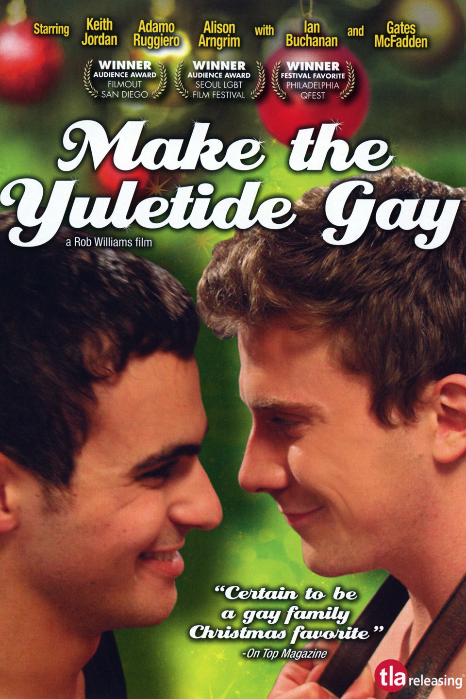 Rainbow Café to Screen Movie 'Make the Yuletide Gay' on Friday, December 16