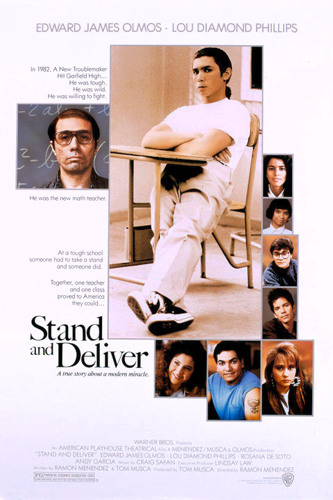 an analysis of the movie stand and deliver Moreover, the self-fulfilling prophecy in the movie stand and deliver is that at first the students did not know as much the students would get lost when jaime escalante was trying to teach them staff at their school didn't believe that jaime escalante's students would be able to pass the calculus exam.