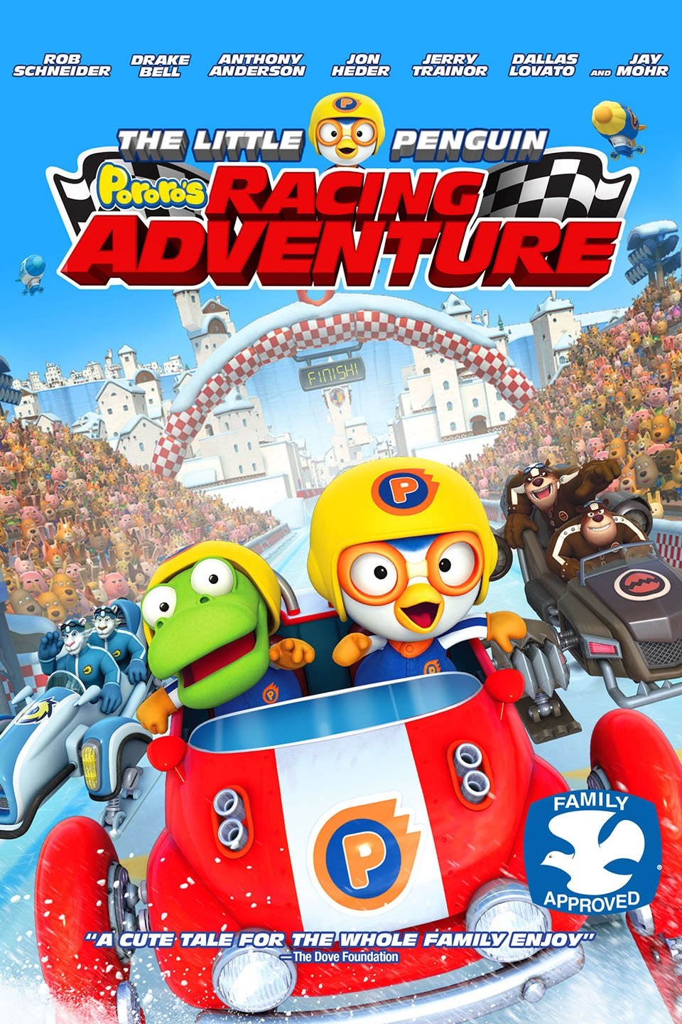 The Little Penguin Pororo's Racing Adventure-Pororo, the Racing Adventure