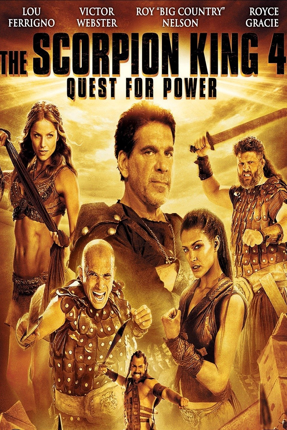 The Scorpion King 4: Quest for Power-The Scorpion King: The Lost Throne