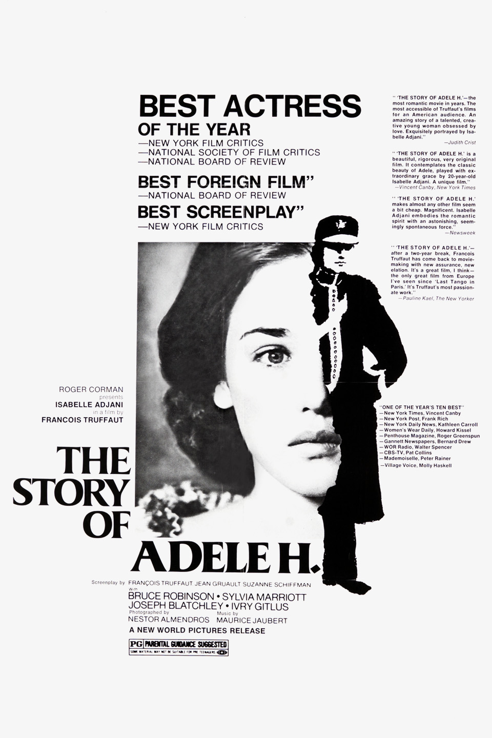 The Story of Adele H 1975