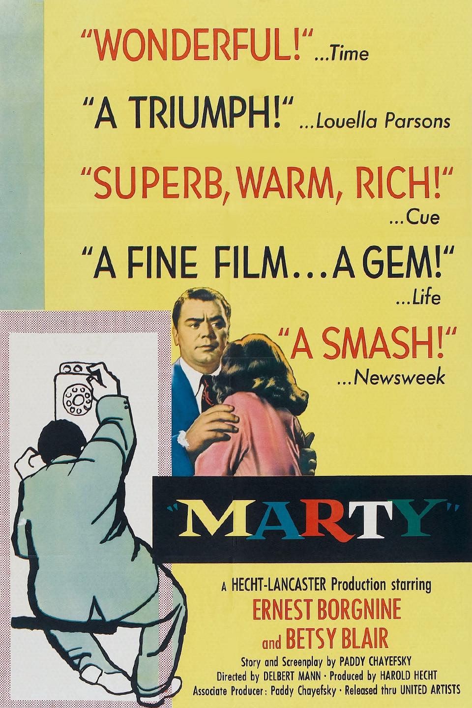 Marty (film) wwwgstaticcomtvthumbmovieposters1484p1484p