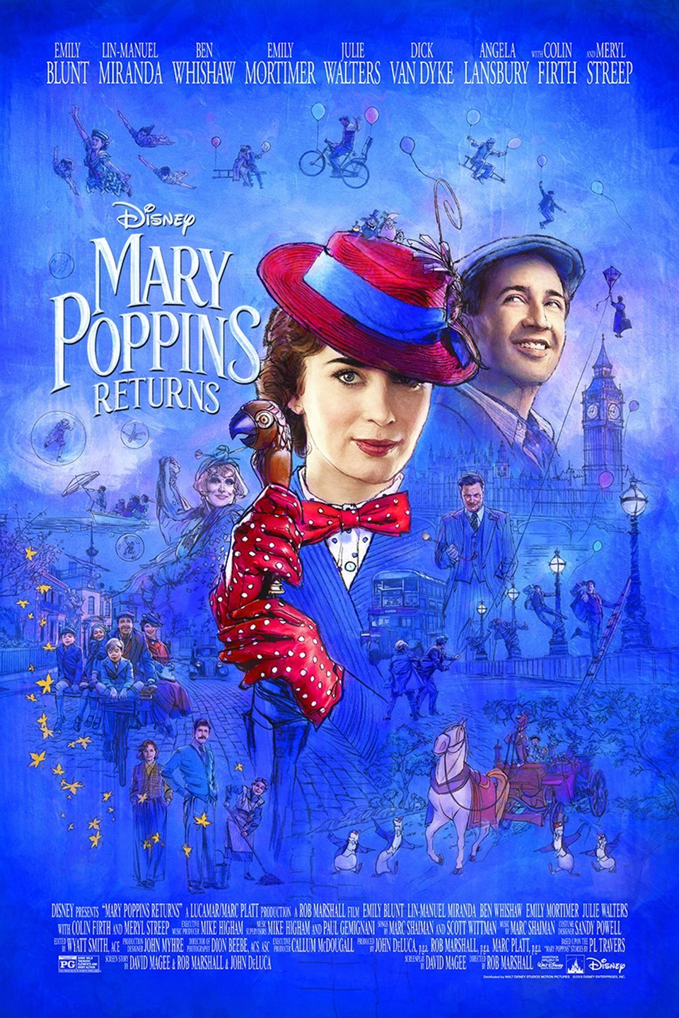 Best Christmas Movies for Kids: Mary Poppins Returns