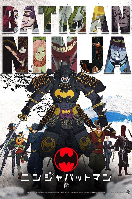 Image result for Batman: Ninja (2018)