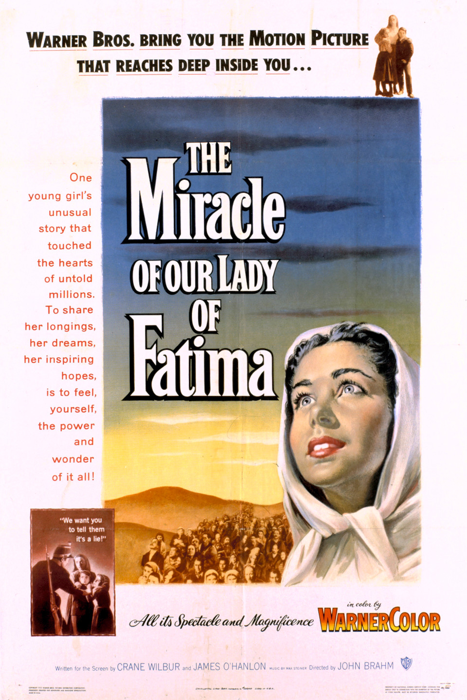 """Miracle of Our LADY of Fatima"" movie"