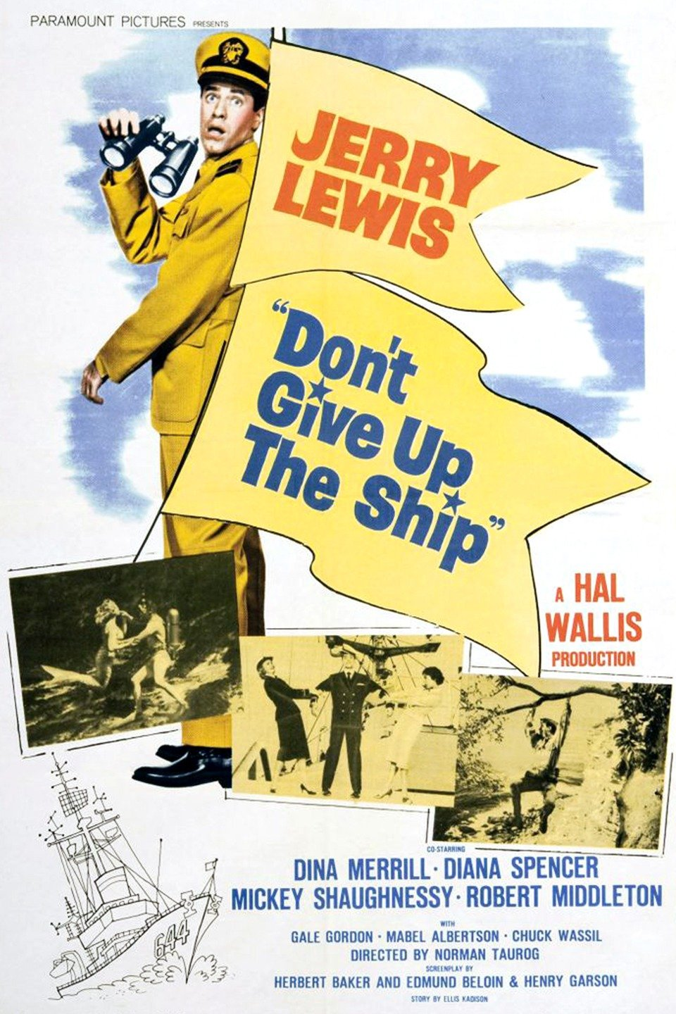 Don't Give Up the Ship (film) wwwgstaticcomtvthumbmovieposters1646p1646p