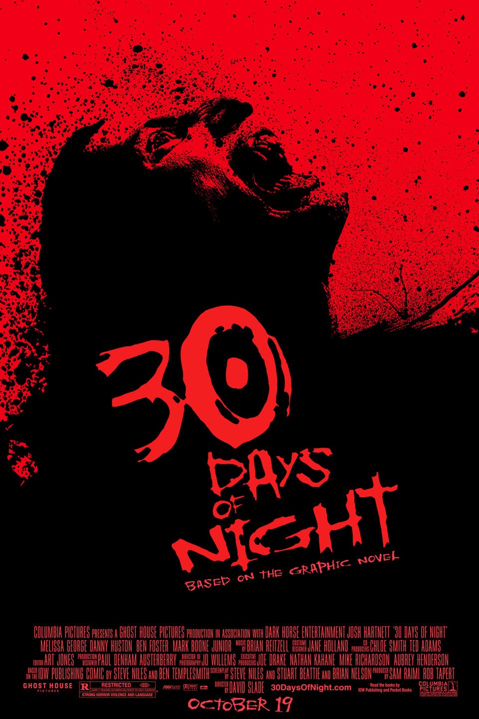 30 Days of Night 2007 Full Movie Download BluRay 480p 300MB And 720p 750MB