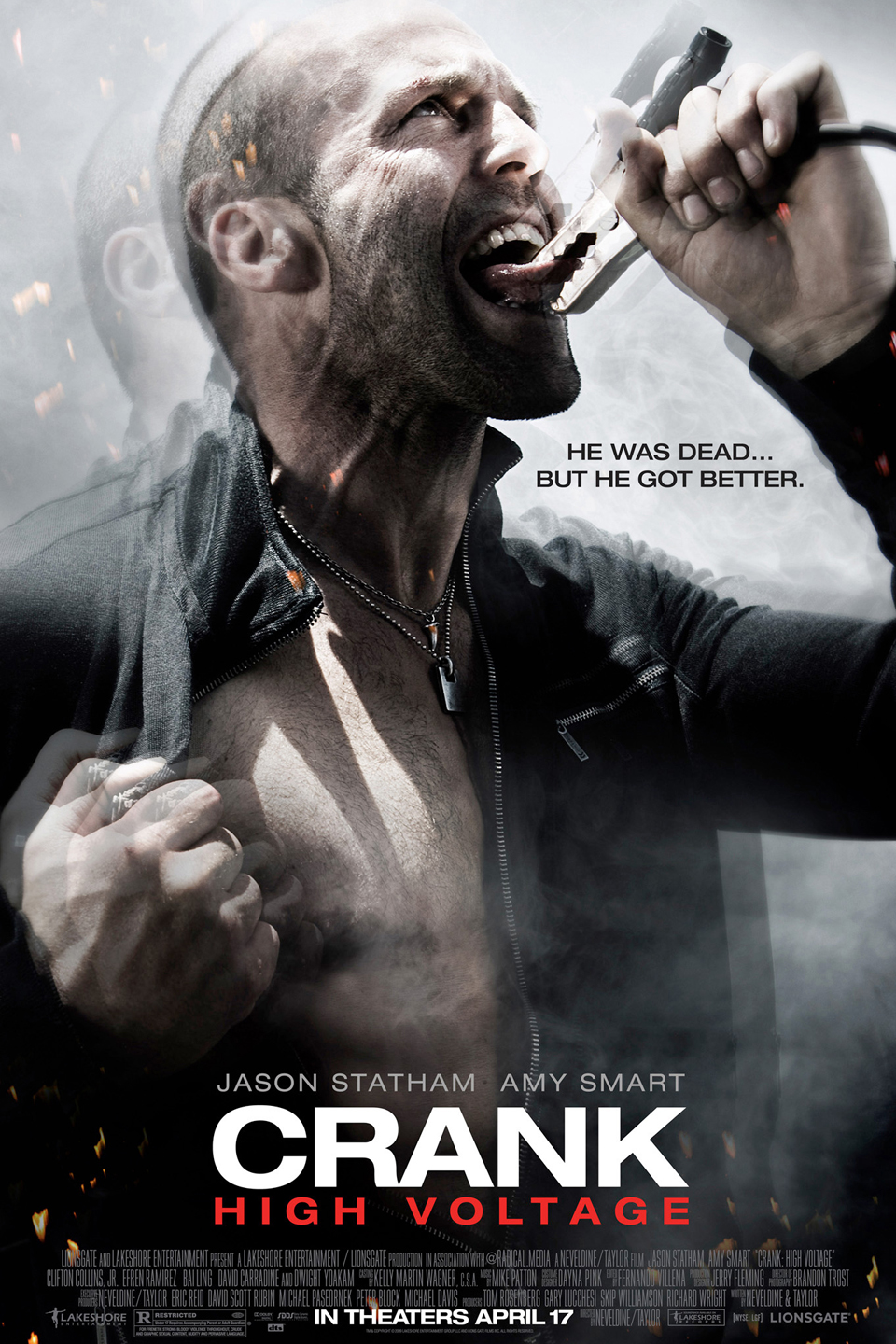 Crank 2 High Voltage Movie Dual Audio Download Full HD 480p 150MB