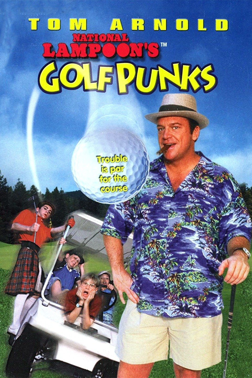 National Lampoon's Golf Punks wwwgstaticcomtvthumbmovieposters21303p21303