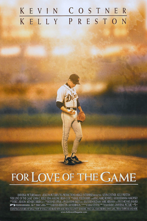baseball movies of the 90s - For Love of the Game