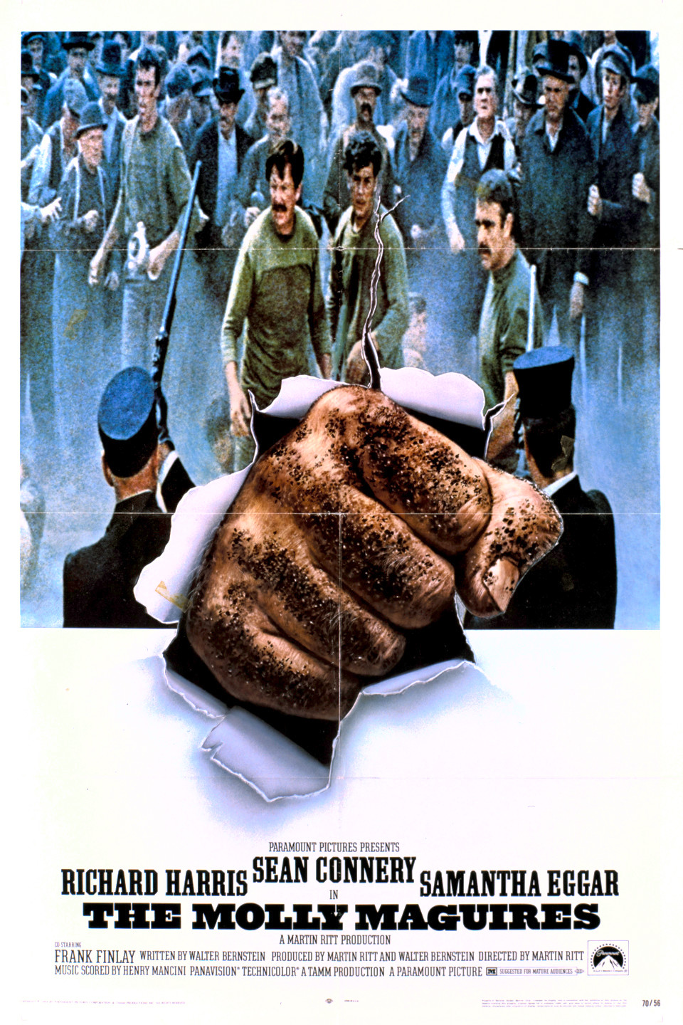 The Molly Maguires (film) wwwgstaticcomtvthumbmovieposters2688p2688p