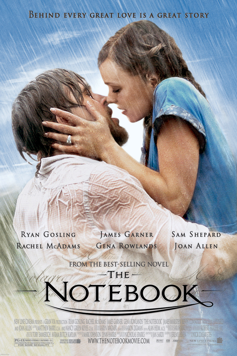 The Notebook wwwgstaticcomtvthumbmovieposters33410p33410