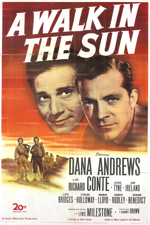 A Walk in the Sun (1945 film) wwwgstaticcomtvthumbmovieposters3399p3399p