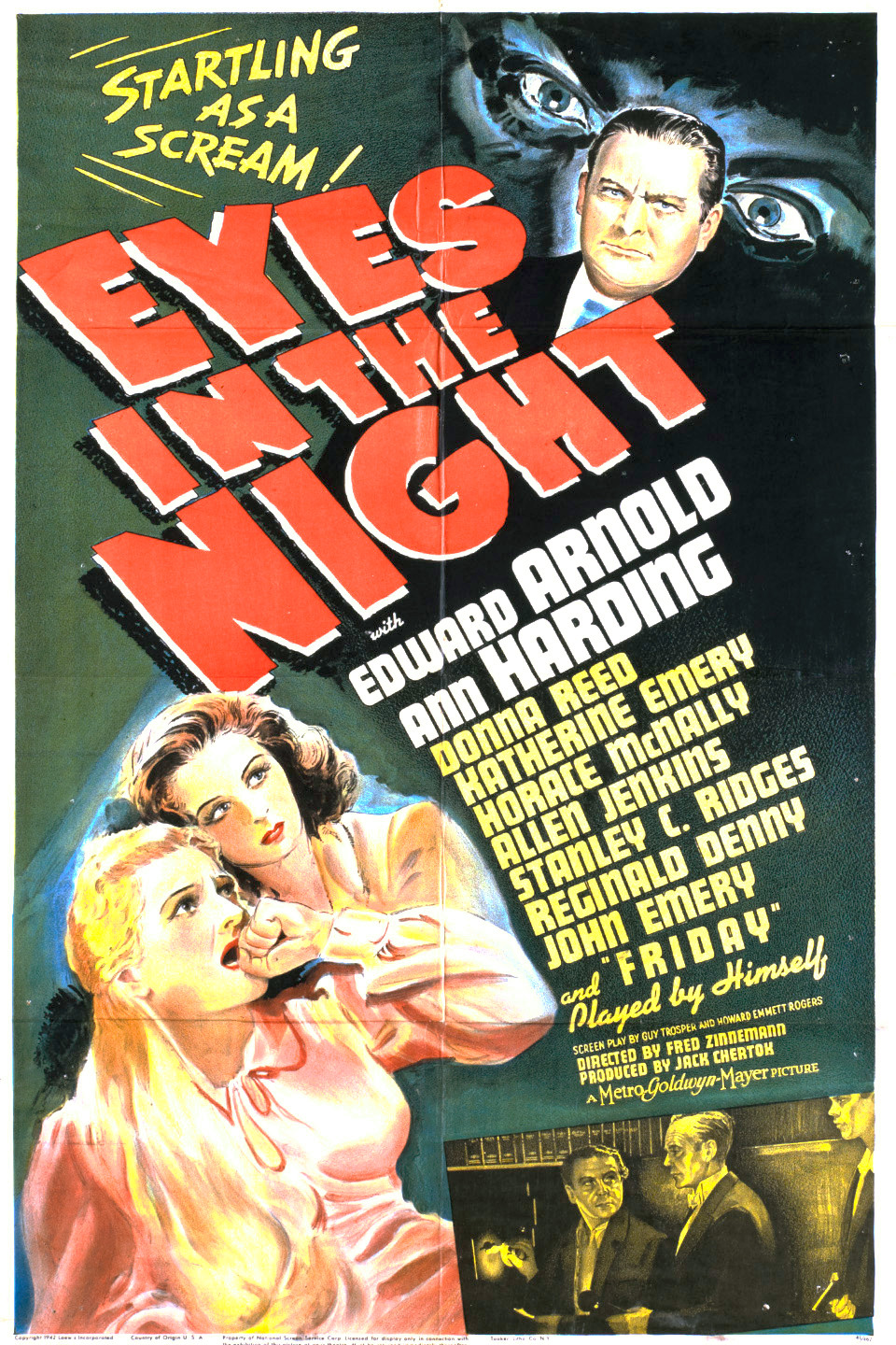 Eyes in the Night wwwgstaticcomtvthumbmovieposters3411p3411p