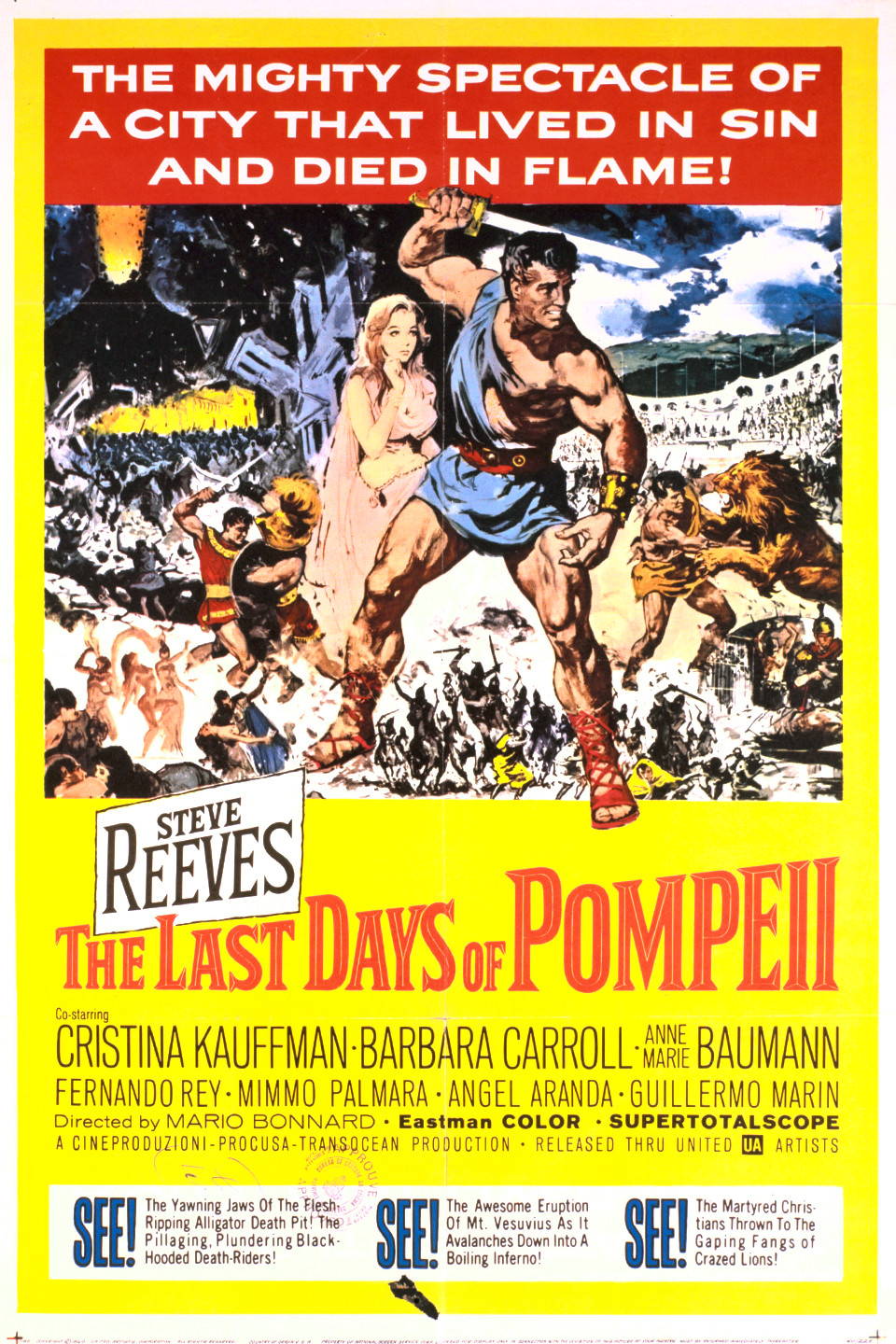 Image result for The Last Days of Pompeii 1959