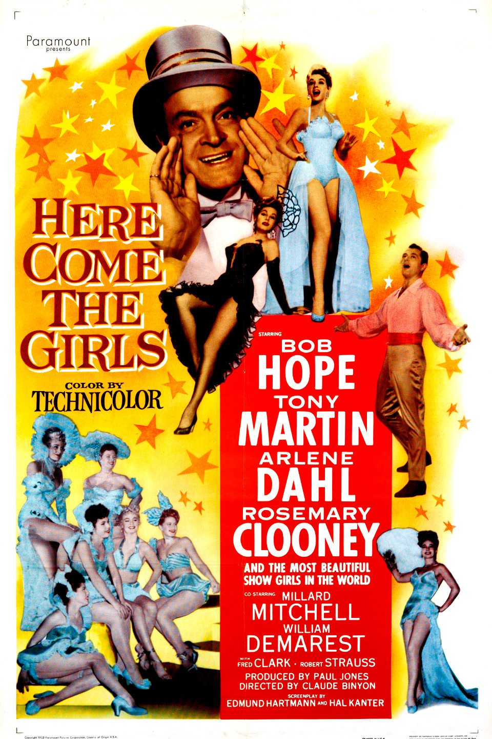 Here Come the Girls (1953 film) wwwgstaticcomtvthumbmovieposters36825p36825