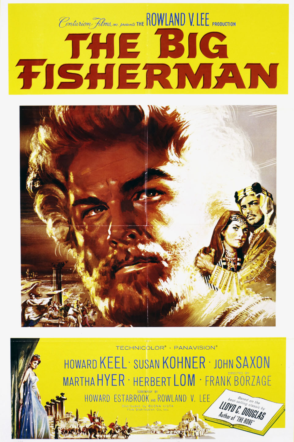 The Big Fisherman wwwgstaticcomtvthumbmovieposters43247p43247