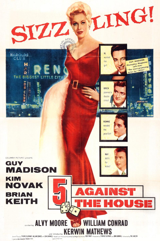 5 Against the House wwwgstaticcomtvthumbmovieposters43308p43308