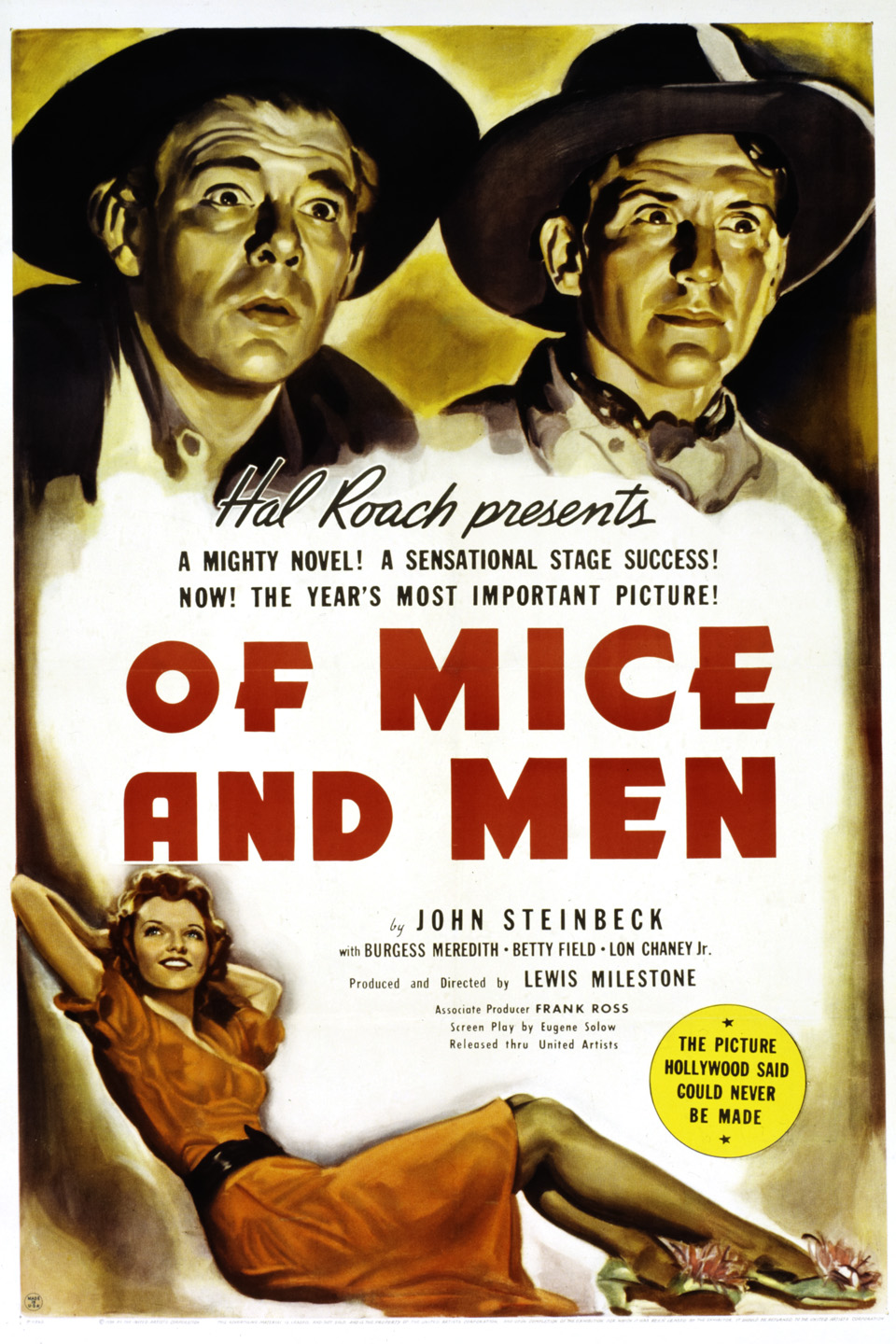 an analysis of of mice and men by steinbeck