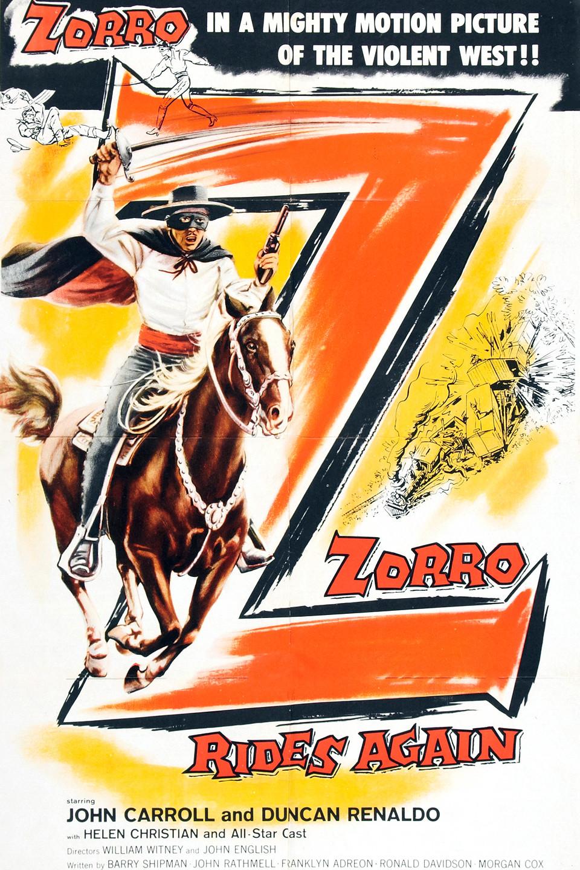 Zorro Rides Again wwwgstaticcomtvthumbmovieposters44980p44980