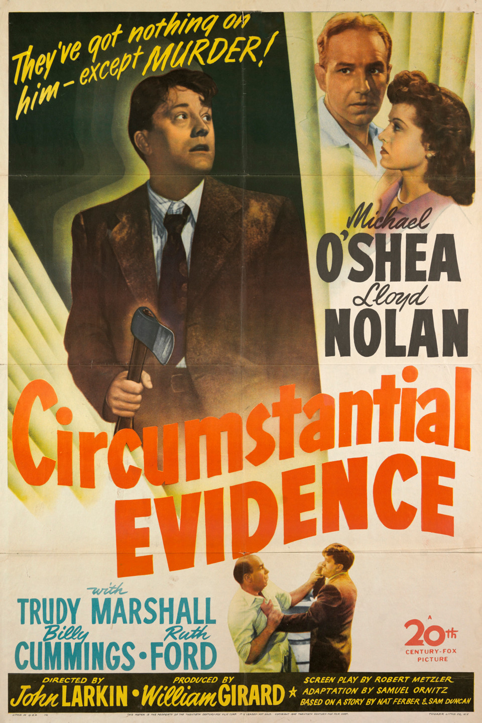 Circumstantial Evidence (1945 film) wwwgstaticcomtvthumbmovieposters47619p47619