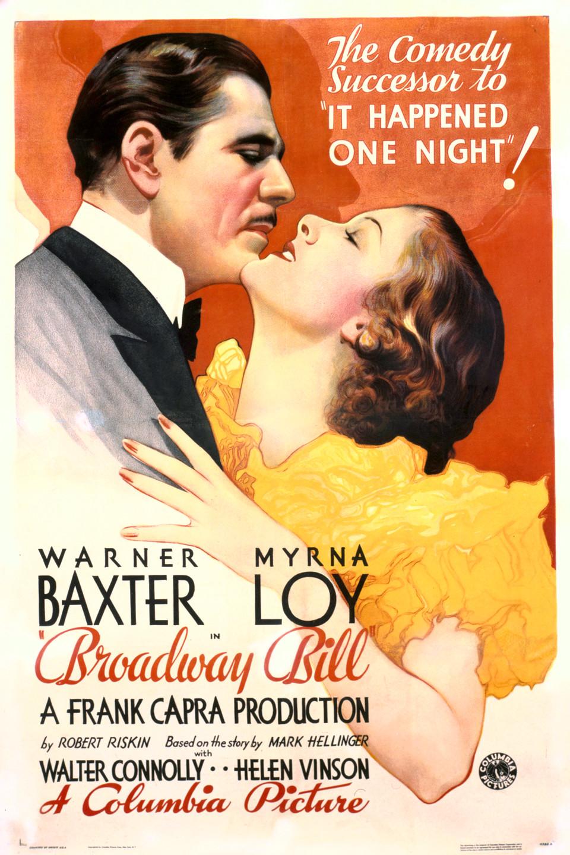 Broadway Bill wwwgstaticcomtvthumbmovieposters49709p49709