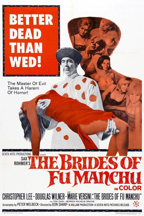 Christopher Lee - Las Novias de Fu-Manchú | 1966 | MEGA