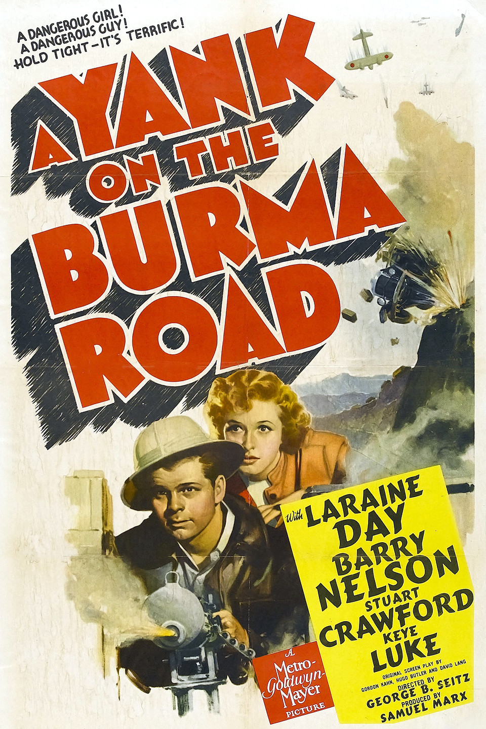 Image result for laraine day movie a yank on the burma road