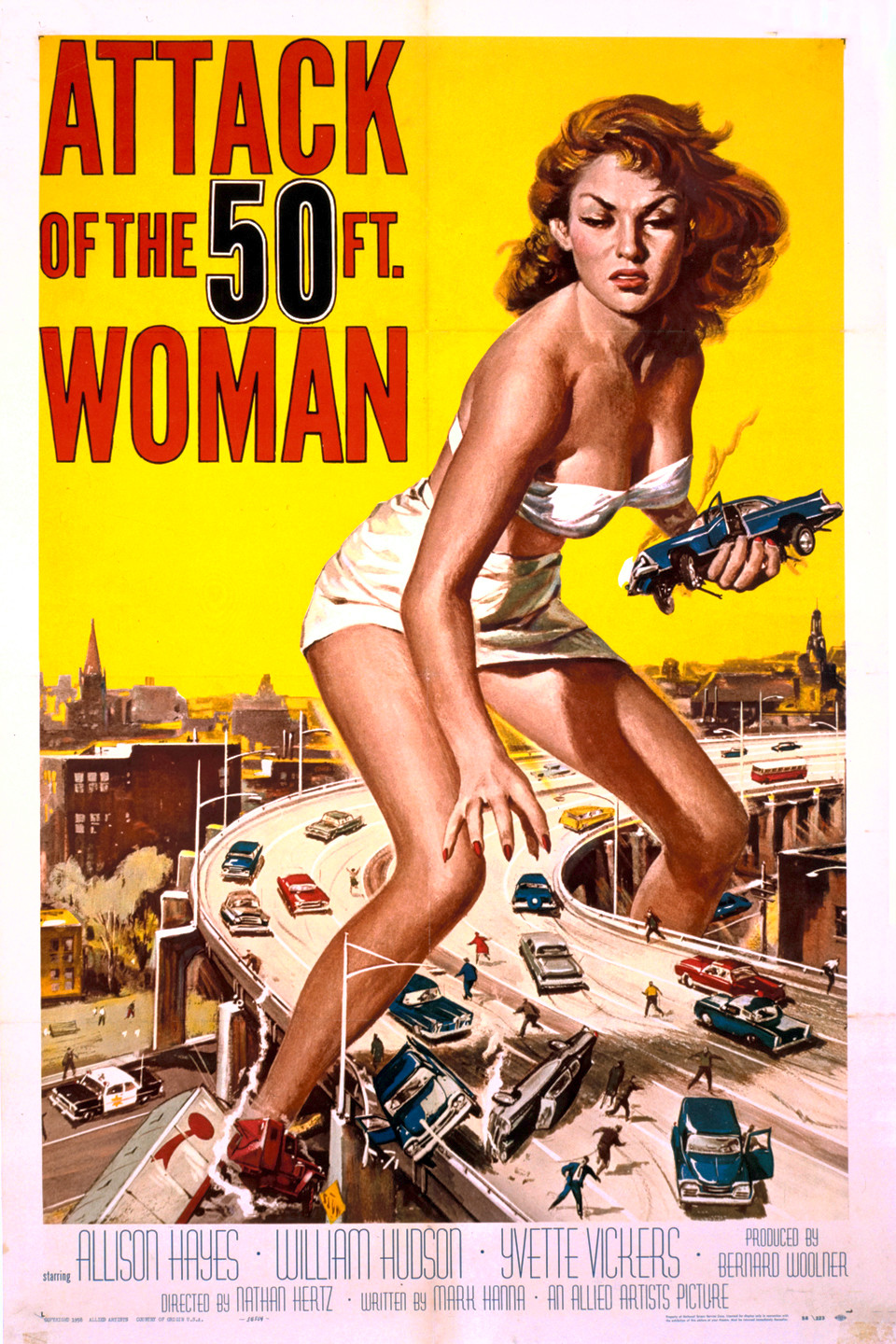 Attack of the 50 Foot Woman wwwgstaticcomtvthumbmovieposters6568p6568p