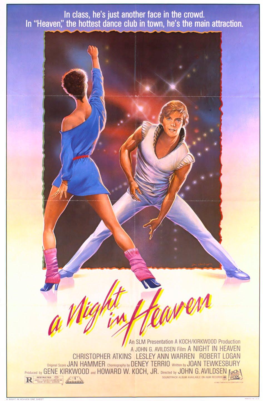 A Night in Heaven wwwgstaticcomtvthumbmovieposters7725p7725p