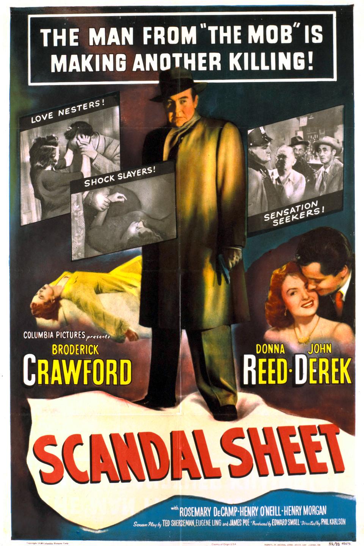 Αποτέλεσμα εικόνας για Scandal Sheet (1952)