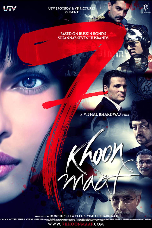 7 Khoon Maaf 2011 Hindi Full Movie HD Download 720p Bluray