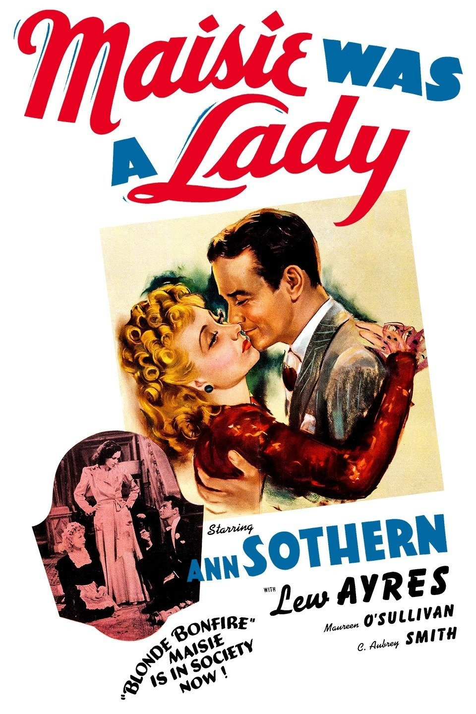 Maisie Was a Lady wwwgstaticcomtvthumbmovieposters8561p8561p