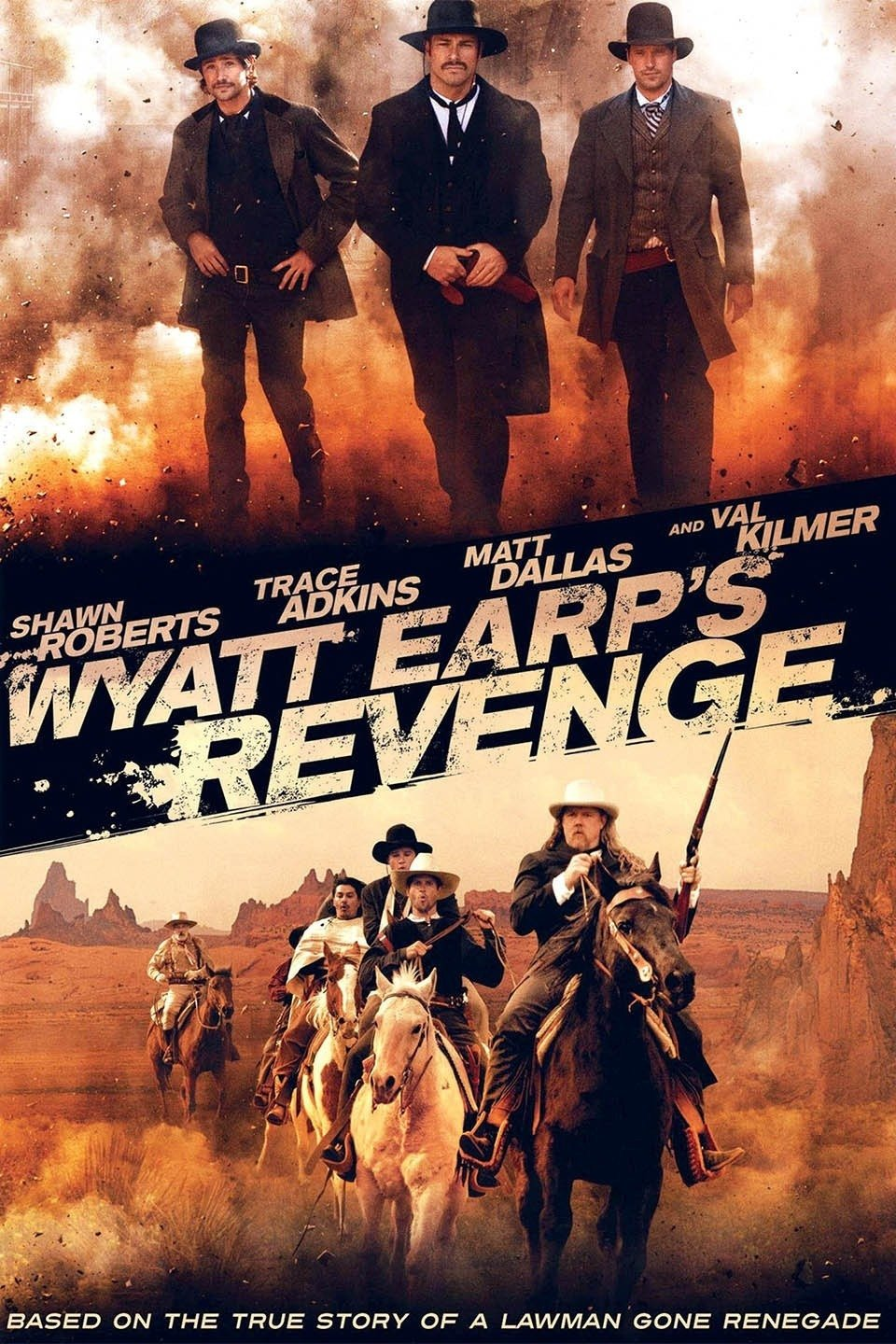 Wyatt Earp's Revenge 2012 HDRip 720p 500MB ( Hindi – English ) ESubs MKV